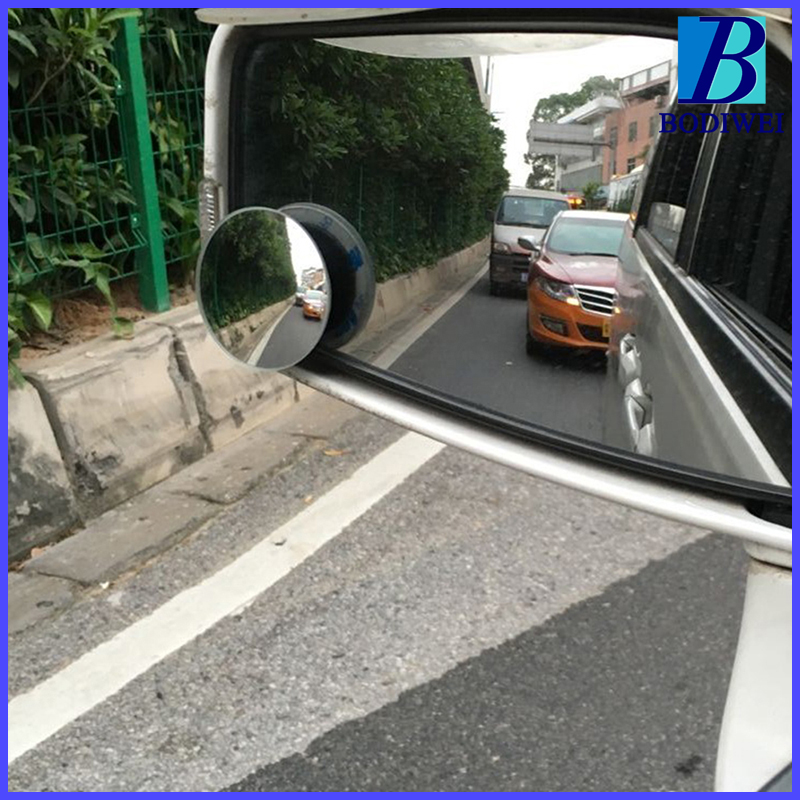 2 Pcs Auto 360 Wide Angle Round Mirror Car Vehicle Side Blindspot Blind Spot Mirrorwide Rearview Small Mirrors