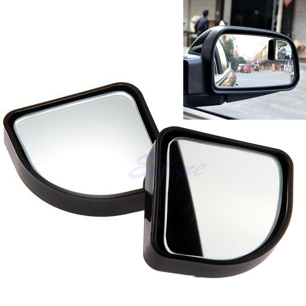 1pair Blind Spot Mirror Convex Wide Angle Rear Side View