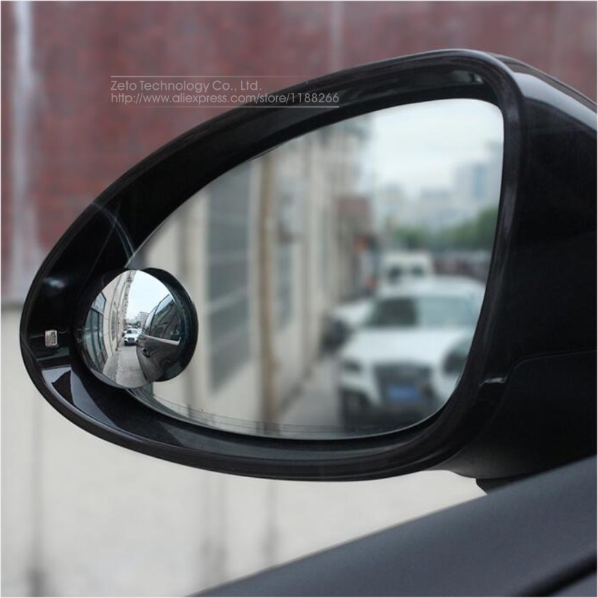 Car Round Square Rearview Mirrors Universal Blind Spot
