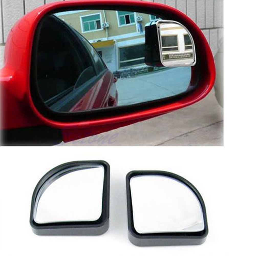 hot pc universal blind spot mirror convex wide angle rear side view  car vehicle
