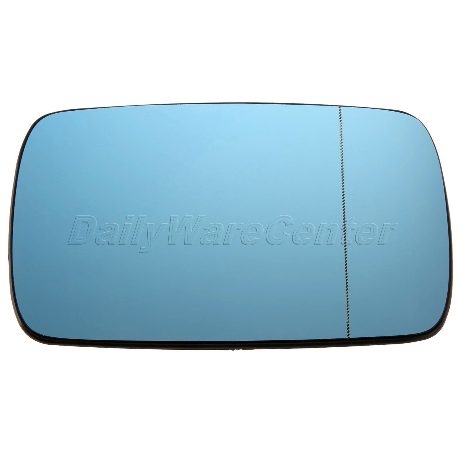 1Pc Right Side Door Wing Mirror Glass Heated Blue Tinted For BMW 3 ...