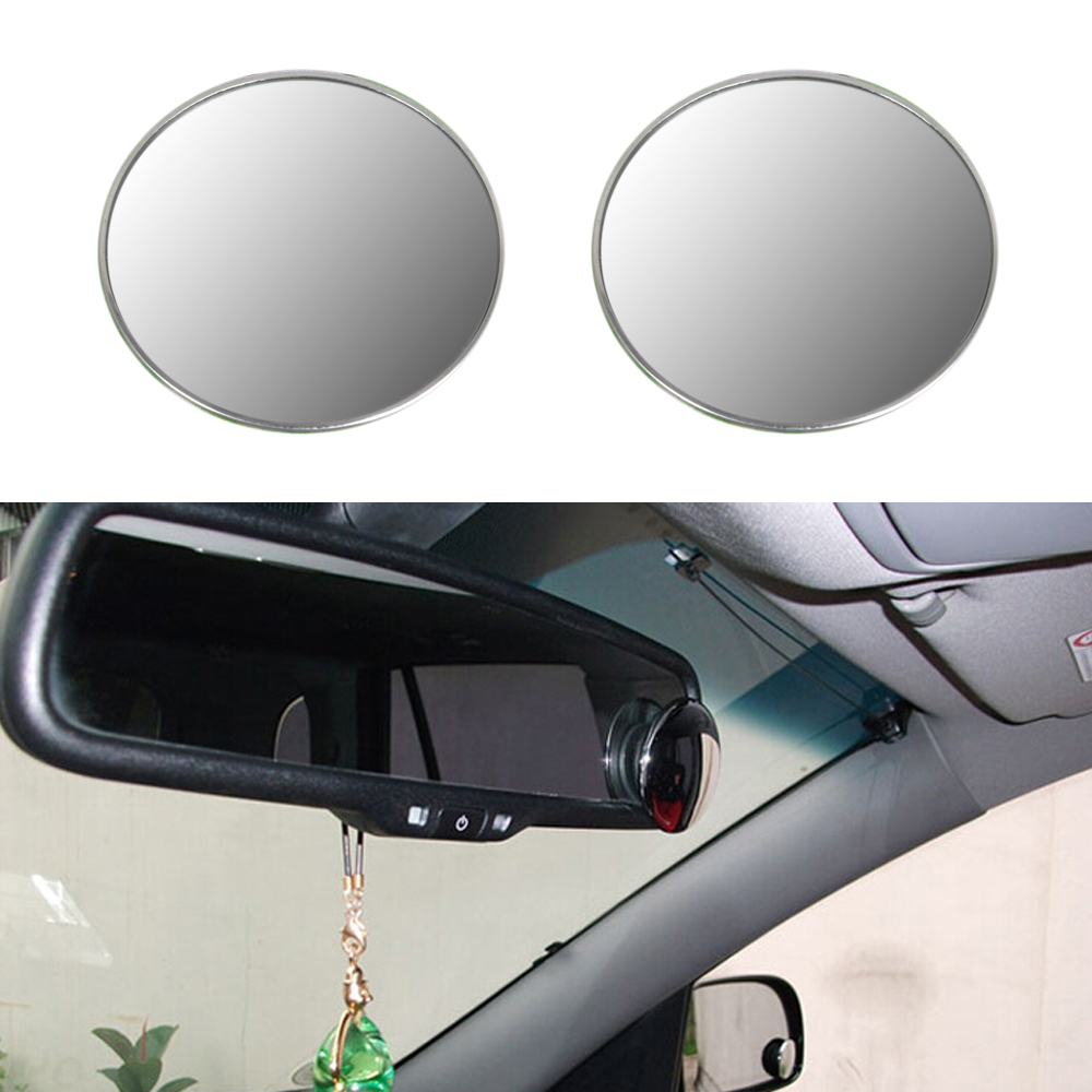 4 Inch Blind Spot Rear View Mirrors Rearview Wide Angle